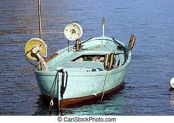 Fishing Boat with Two Winches - Liguria Italy