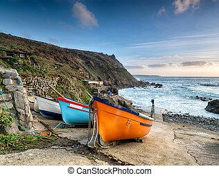 Fishing Boats at Cape Cornwall
