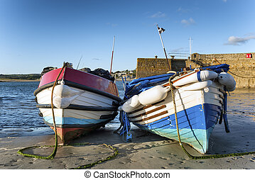 Fishing Boats at St Michael's Mount