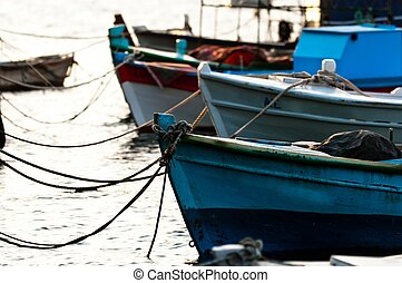 Fishing boats at the pier