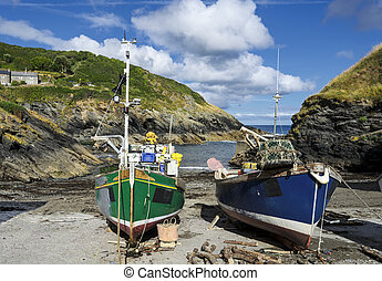 Fishing Boats in Cornwall