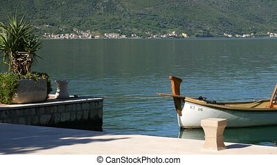 Fishing boats in the Bay of Kotor