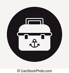 fishing box icon