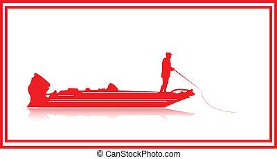 Fishing. - Fresh water boat fishing.