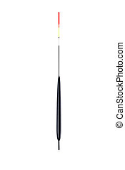 fishing float on a white background close-up