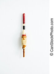 fishing float on a white background