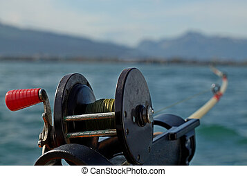 Fishing from the boat