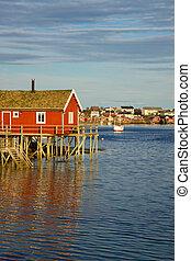 Fishing house on Lofoten