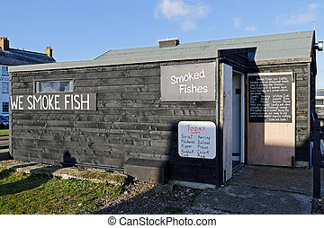 Fishing Hut in the UK