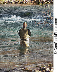 Fishing in Fall