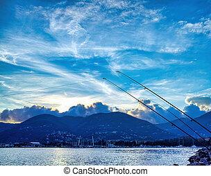 fishing in the gulf of la spezia