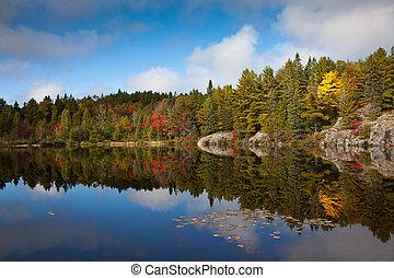 Fishing Lake Epic vista, Canada