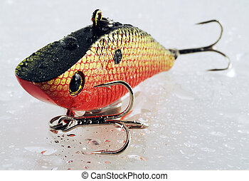 Fishing lure - crank bait lure used for bass fishing