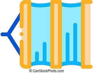 fishing net icon vector outline illustration - fishing net ...