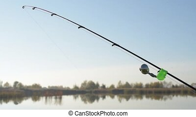 Fishing Twin Bell Ring Spinning Rod Clamp - fishing on...