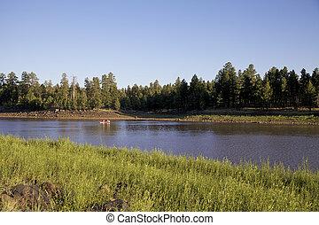 Fishing on Scenic Lake