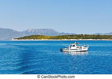 Fishing on the adriatic coast