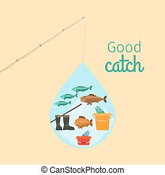 Fishing on the water