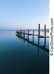 Fishing Pier At The Salton Sea