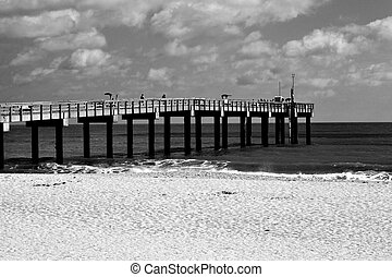 Fishing Pier Background