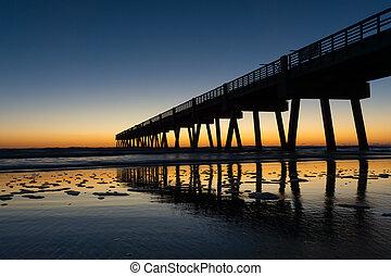Fishing Pier in Morning