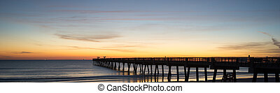 Fishing Pier in the Morning - Jacksonville Beach Fishing...