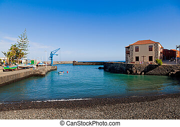 Fishing Port in Puerto de la Cruz, Tenerife
