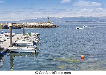 Fishing port of Vilaxoan