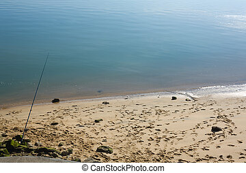 Fishing rod standing