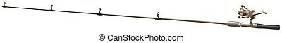 Fishing rod with no string illustration