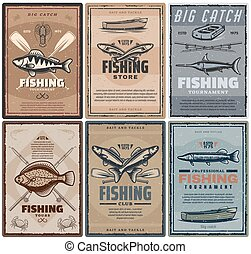 Fishing store or fisher sport tours