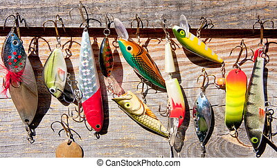 fishing tackle - bait for catching predatory fish on spinig
