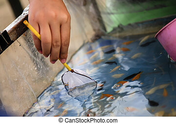 Fishing tools with paper