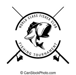 fishing tournament badge