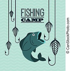 fishing tournament design, vector illustration eps10 graphic...