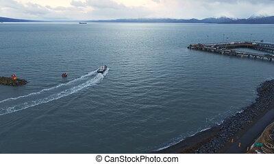 Fishing Trawler Kachemak Bay Homer Alaska Nautical Marine...