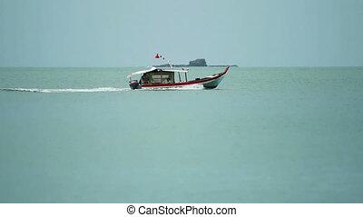 Fishing Trawler - Fishing trawler in hot sunny day