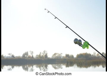 Fishing Twin Bell Ring Spinning Rod Clamp - Feeder Fishing...