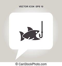 fishing vector icon