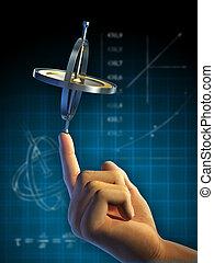 fisica, giroscopio