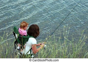 fiske, familie