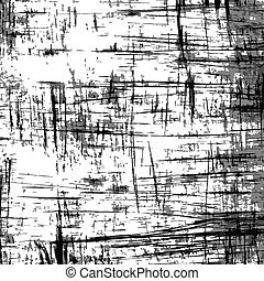 fissures - Black scratches on white surface. Vector...