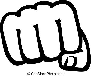 Fist front