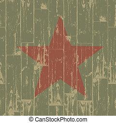Fist - revolution symbol. Grunge, EPS10.
