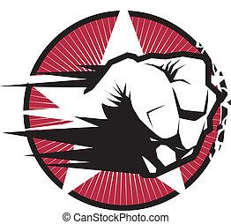 Fist Strike Emblem