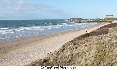 Fistral beach in Newquay, Cornwall