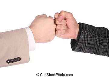 fists, два