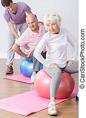 Fit older people