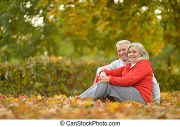 fit senior couple