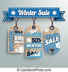 fita, 3, inverno, preço venda, adesivo